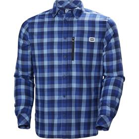 Helly Hansen Lokka LS Shirt Herr catalina blue plaid